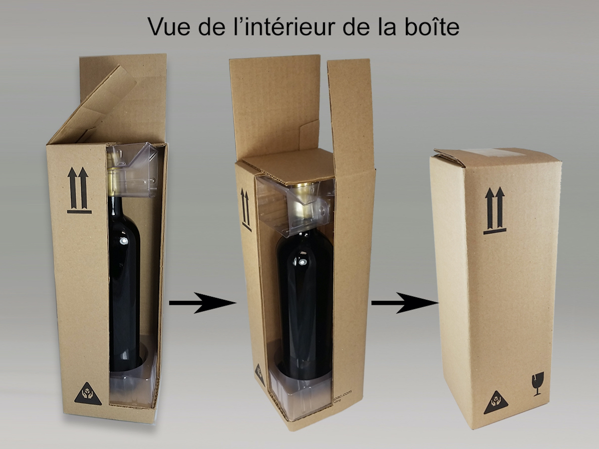Bottle ePac - Image - Vue Intérieure de la Boite
